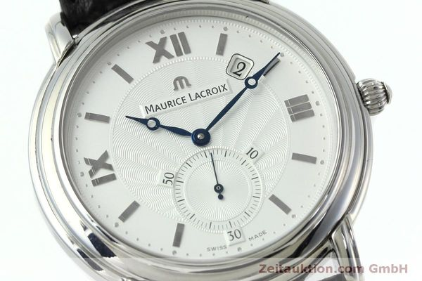 Used luxury watch Maurice Lacroix Masterpiece steel manual winding Kal. ML 101 Ref. MP7028  | 152307 02