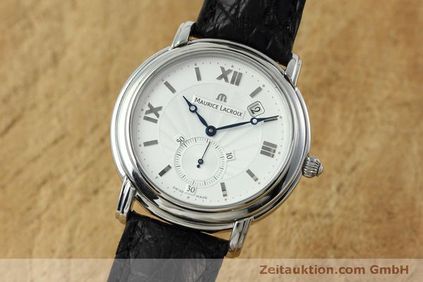 Used luxury watch Maurice Lacroix Masterpiece steel manual winding Kal. ML 101 Ref. MP7028  | 152307 04