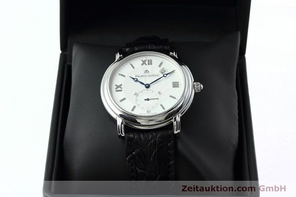 Used luxury watch Maurice Lacroix Masterpiece steel manual winding Kal. ML 101 Ref. MP7028  | 152307 07