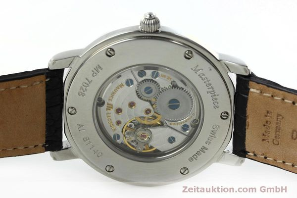 Used luxury watch Maurice Lacroix Masterpiece steel manual winding Kal. ML 101 Ref. MP7028  | 152307 09
