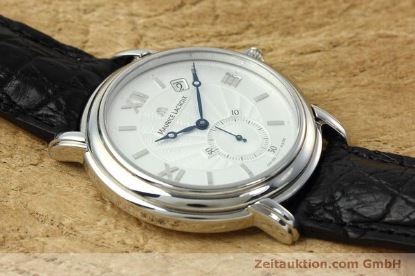 Used luxury watch Maurice Lacroix Masterpiece steel manual winding Kal. ML 101 Ref. MP7028  | 152307 12