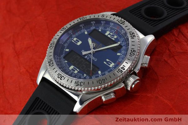 Used luxury watch Breitling B1 chronograph steel quartz Kal. B68 ETA E20.331 Ref. A68362  | 152309 01