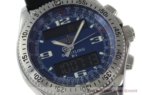 Used luxury watch Breitling B1 chronograph steel quartz Kal. B68 ETA E20.331 Ref. A68362  | 152309 02