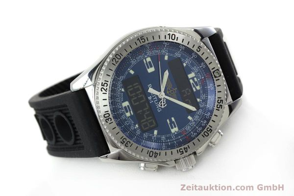 Used luxury watch Breitling B1 chronograph steel quartz Kal. B68 ETA E20.331 Ref. A68362  | 152309 03