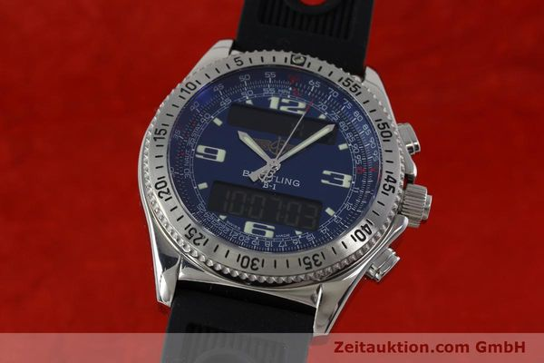 Used luxury watch Breitling B1 chronograph steel quartz Kal. B68 ETA E20.331 Ref. A68362  | 152309 04