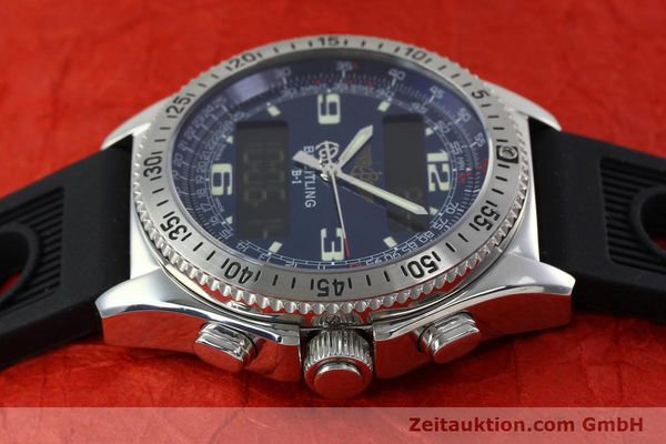 Used luxury watch Breitling B1 chronograph steel quartz Kal. B68 ETA E20.331 Ref. A68362  | 152309 05