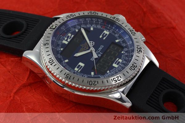 Used luxury watch Breitling B1 chronograph steel quartz Kal. B68 ETA E20.331 Ref. A68362  | 152309 12