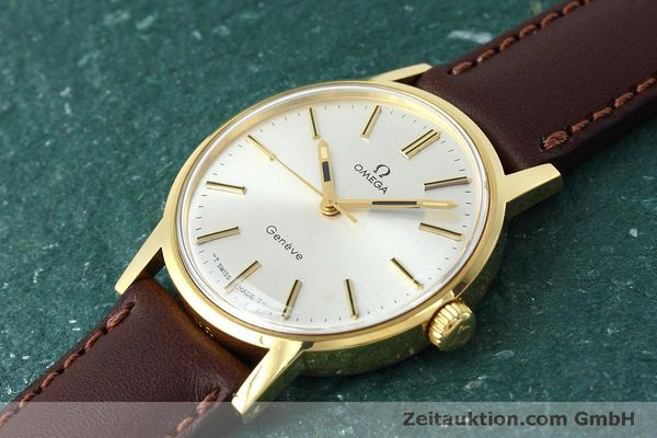 Used luxury watch Omega * gold-plated manual winding Kal. 601 VINTAGE  | 152313 01