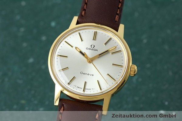 Used luxury watch Omega * gold-plated manual winding Kal. 601 VINTAGE  | 152313 04