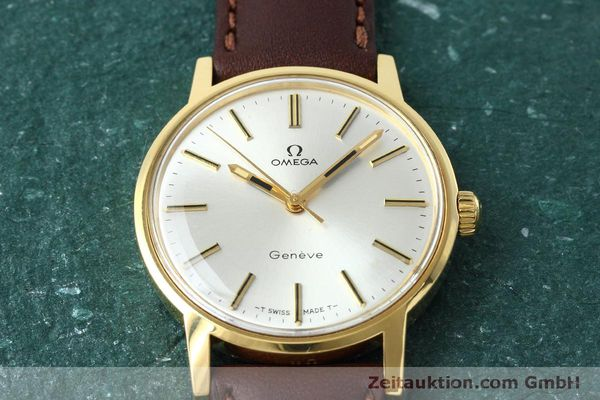 Used luxury watch Omega * gold-plated manual winding Kal. 601 VINTAGE  | 152313 14