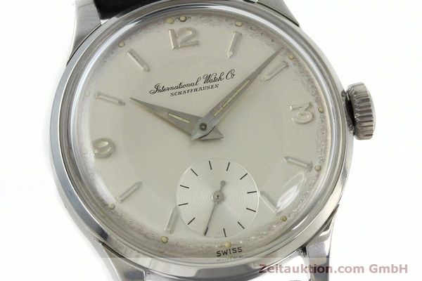 Used luxury watch IWC * steel manual winding Kal. 88  | 152314 02