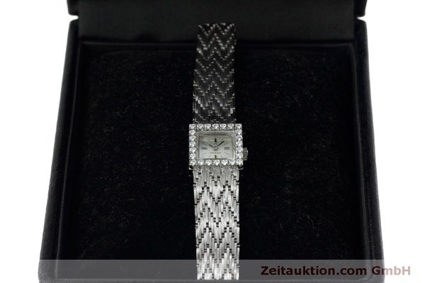 Used luxury watch Omega * 18 ct white gold manual winding Kal. 650 Ref. 8096  | 152316 07