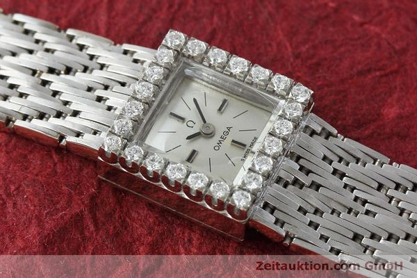 Used luxury watch Omega * 18 ct white gold manual winding Kal. 650 Ref. 8096  | 152316 15