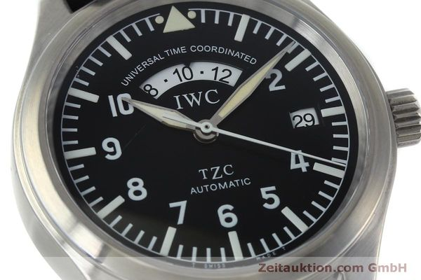 Used luxury watch IWC TZC steel automatic Kal. 37526 Ref. 3251  | 152318 02