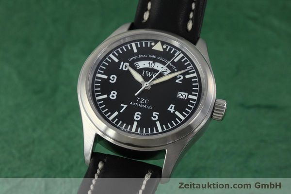 Used luxury watch IWC TZC steel automatic Kal. 37526 Ref. 3251  | 152318 04