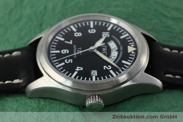 Used luxury watch IWC TZC steel automatic Kal. 37526 Ref. 3251  | 152318 05