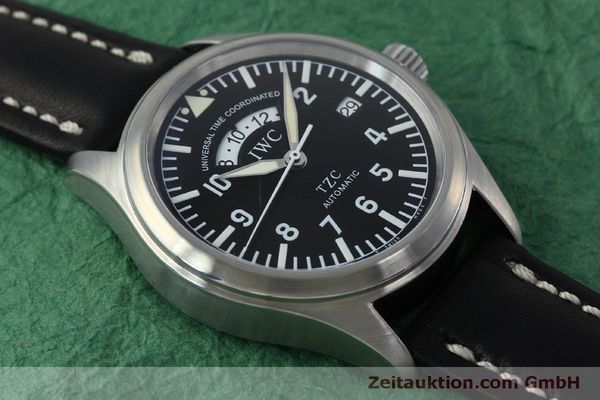 Used luxury watch IWC TZC steel automatic Kal. 37526 Ref. 3251  | 152318 15