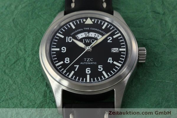 Used luxury watch IWC TZC steel automatic Kal. 37526 Ref. 3251  | 152318 16