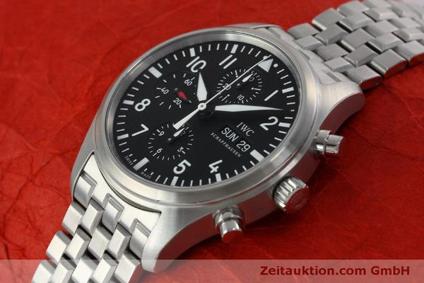 Used luxury watch IWC Fliegerchronograph chronograph steel automatic Kal. 79320 Ref. IW371704 / 3717  | 152322 01