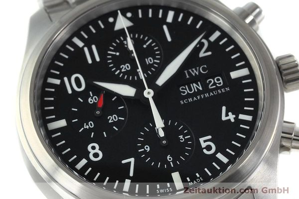 Used luxury watch IWC Fliegerchronograph chronograph steel automatic Kal. 79320 Ref. IW371704 / 3717  | 152322 02
