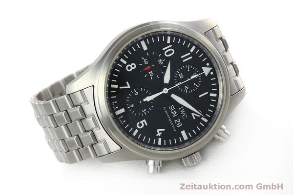 Used luxury watch IWC Fliegerchronograph chronograph steel automatic Kal. 79320 Ref. IW371704 / 3717  | 152322 03