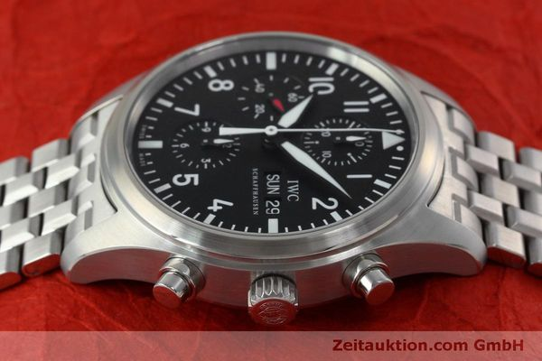 Used luxury watch IWC Fliegerchronograph chronograph steel automatic Kal. 79320 Ref. IW371704 / 3717  | 152322 05