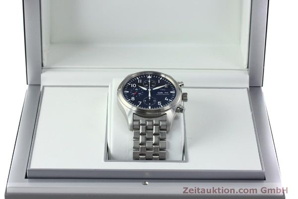 Used luxury watch IWC Fliegerchronograph chronograph steel automatic Kal. 79320 Ref. IW371704 / 3717  | 152322 07