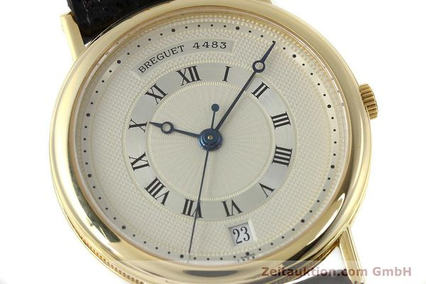 Used luxury watch Breguet Classique 18 ct gold automatic Kal. 889/1  | 152326 02
