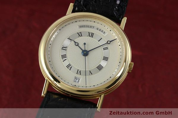 Used luxury watch Breguet Classique 18 ct gold automatic Kal. 889/1  | 152326 04