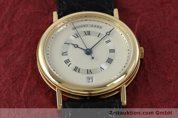 Used luxury watch Breguet Classique 18 ct gold automatic Kal. 889/1  | 152326 15