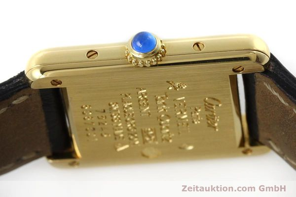 Used luxury watch Cartier Tank silver-gilt quartz Kal. 057  | 152327 08