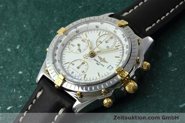 Used luxury watch Breitling Chronomat chronograph steel / gold automatic Kal. B13 ETA 7750 Ref. B13050  | 152328 01