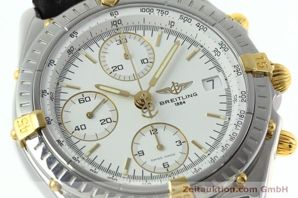 Used luxury watch Breitling Chronomat chronograph steel / gold automatic Kal. B13 ETA 7750 Ref. B13050  | 152328 02