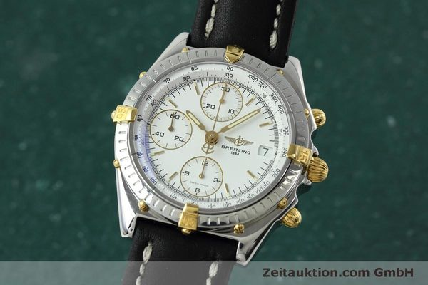 Used luxury watch Breitling Chronomat chronograph steel / gold automatic Kal. B13 ETA 7750 Ref. B13050  | 152328 04