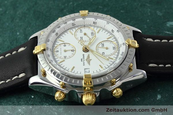 Used luxury watch Breitling Chronomat chronograph steel / gold automatic Kal. B13 ETA 7750 Ref. B13050  | 152328 05