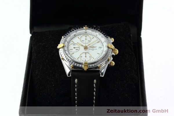 Used luxury watch Breitling Chronomat chronograph steel / gold automatic Kal. B13 ETA 7750 Ref. B13050  | 152328 07