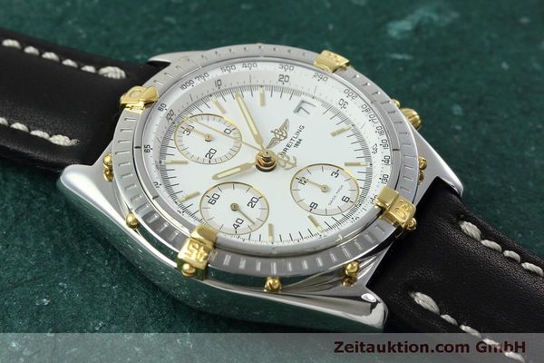 Used luxury watch Breitling Chronomat chronograph steel / gold automatic Kal. B13 ETA 7750 Ref. B13050  | 152328 14