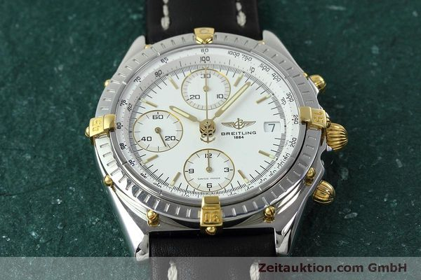 Used luxury watch Breitling Chronomat chronograph steel / gold automatic Kal. B13 ETA 7750 Ref. B13050  | 152328 15