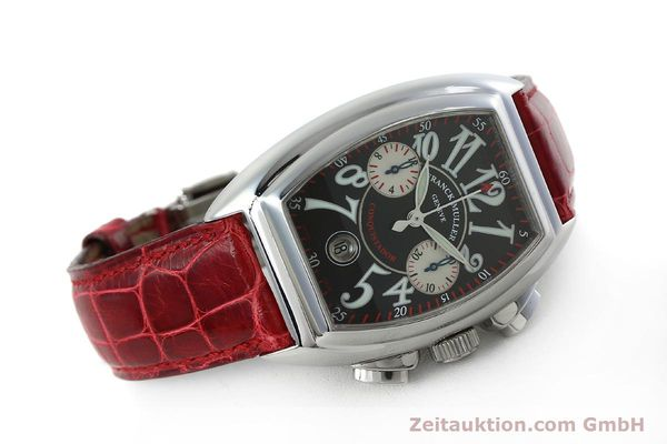 Used luxury watch Franck Muller Conquistador chronograph steel automatic Kal. 1185 C02 Ref. 8005CC  | 152329 03