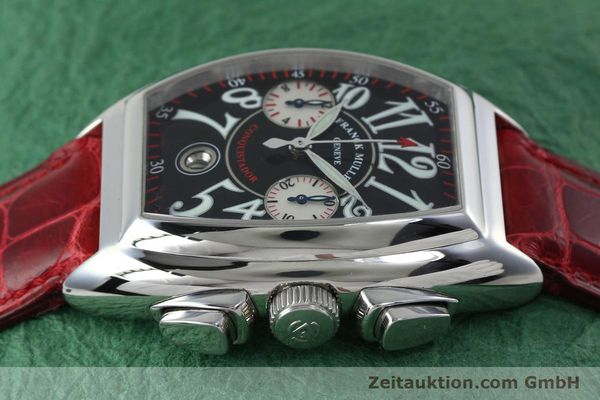 Used luxury watch Franck Muller Conquistador chronograph steel automatic Kal. 1185 C02 Ref. 8005CC  | 152329 05