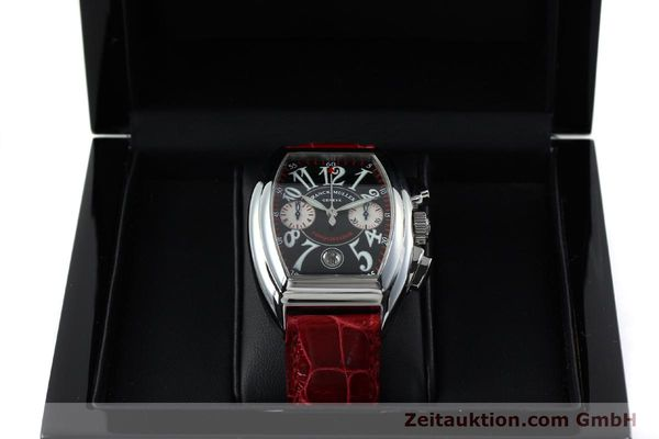 Used luxury watch Franck Muller Conquistador chronograph steel automatic Kal. 1185 C02 Ref. 8005CC  | 152329 07