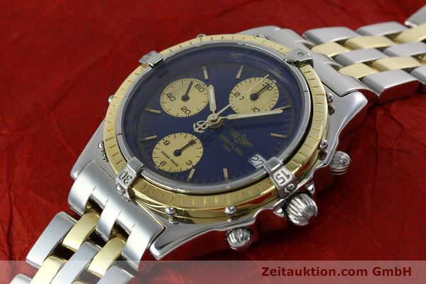 Used luxury watch Breitling Chronomat chronograph steel / gold automatic Kal. Valj.  7750 Ref. 81950/D13047  | 152331 01