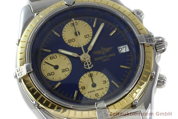 Used luxury watch Breitling Chronomat chronograph steel / gold automatic Kal. Valj.  7750 Ref. 81950/D13047  | 152331 02