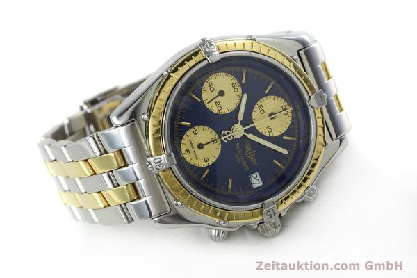 Used luxury watch Breitling Chronomat chronograph steel / gold automatic Kal. Valj.  7750 Ref. 81950/D13047  | 152331 03