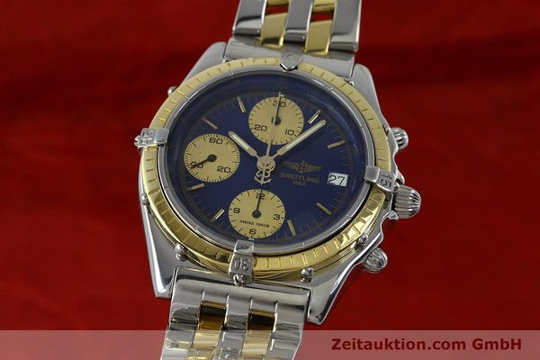 Used luxury watch Breitling Chronomat chronograph steel / gold automatic Kal. Valj.  7750 Ref. 81950/D13047  | 152331 04