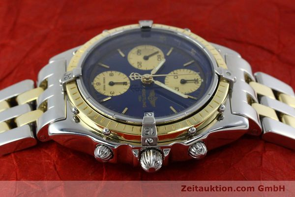 Used luxury watch Breitling Chronomat chronograph steel / gold automatic Kal. Valj.  7750 Ref. 81950/D13047  | 152331 05