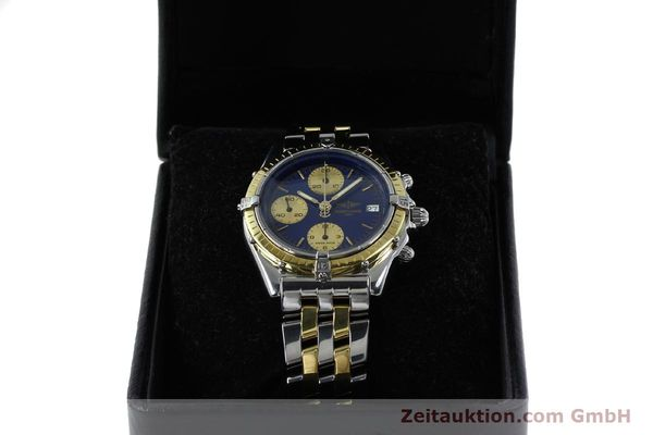 Used luxury watch Breitling Chronomat chronograph steel / gold automatic Kal. Valj.  7750 Ref. 81950/D13047  | 152331 07