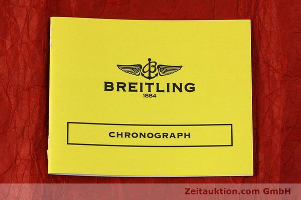 Used luxury watch Breitling Chronomat chronograph steel / gold automatic Kal. Valj.  7750 Ref. 81950/D13047  | 152331 10