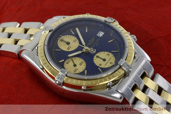 Used luxury watch Breitling Chronomat chronograph steel / gold automatic Kal. Valj.  7750 Ref. 81950/D13047  | 152331 12