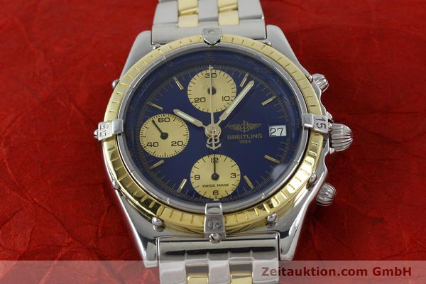 Used luxury watch Breitling Chronomat chronograph steel / gold automatic Kal. Valj.  7750 Ref. 81950/D13047  | 152331 13